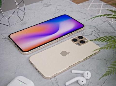 iPhone12最新设计曝光,小刘海+屏下指纹