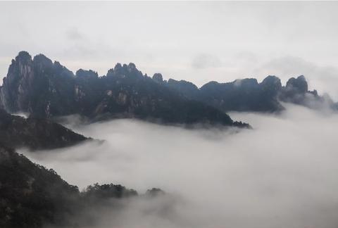 黄山云雾,值得看三遍