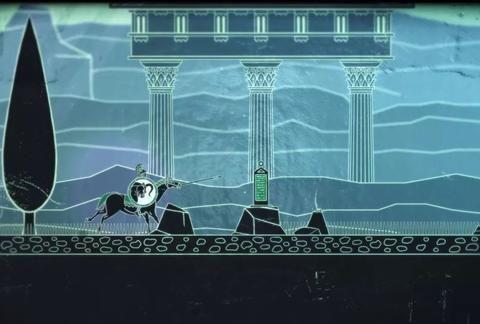 一款希腊神话为背景的横版2D动作冒险游戏