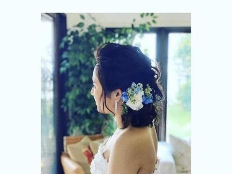 36岁苍井空晒婚纱照,侧脸完美,结婚两年带双胞胎夏威夷办婚礼