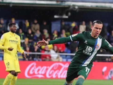 2-1!西班牙人新帅神了!武磊2大竞争对手立功 他却无缘登场