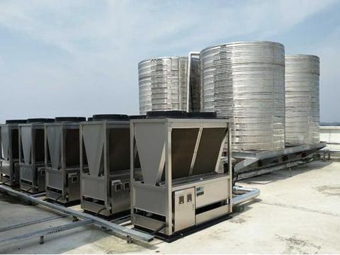 商用空气能热泵出现运行故障 可能是套管堵塞所致