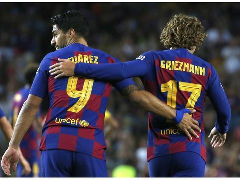 马卡:苏亚雷斯长期伤缺,塞蒂恩可能让格列兹曼踢中锋