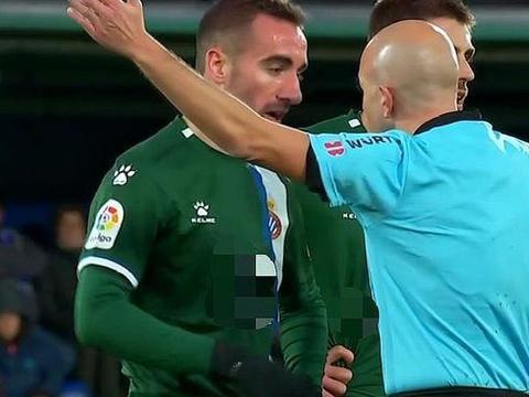 2-1,西班牙人险胜!武磊替补,新援首秀破门,洛佩斯染红送点