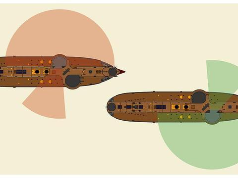 黄海海战时北洋水师采用横队,是根据实际情况决定,并非错误