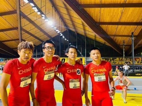 3分13秒37!中国接力队美国田径赛斩获季军 排奥运赛季亚洲第一