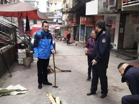 """贵阳民生路洙泗巷私装地锁""""抢车位"""",拆了"""