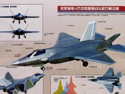 过于先进不宜公开,歼-31有希望成世界最强舰载机,无法阻止!