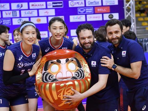 韩国女排击败泰国入围东京奥运会,日本女排成最大受害者,要哭了