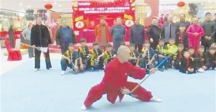 菏泽市第二届传统武术联赛总决赛开赛