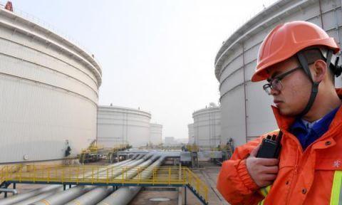 视窗 | 山东港口青岛港启动保税原油混兑调和业务