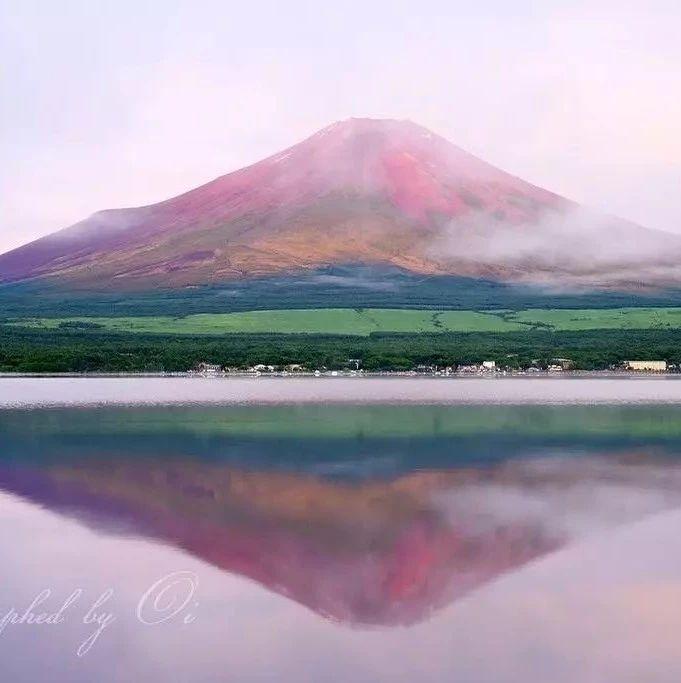 日本一小哥专拍富士山,4年拍下1300多张照片!拍的不是山是女朋友啊!