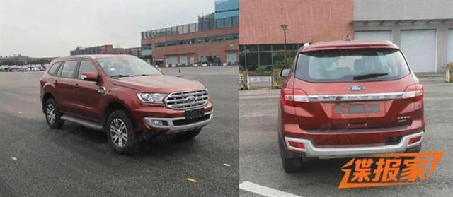硬刚普拉多!继锐际之后又一款福特SUV强势来袭,福特要转型了?