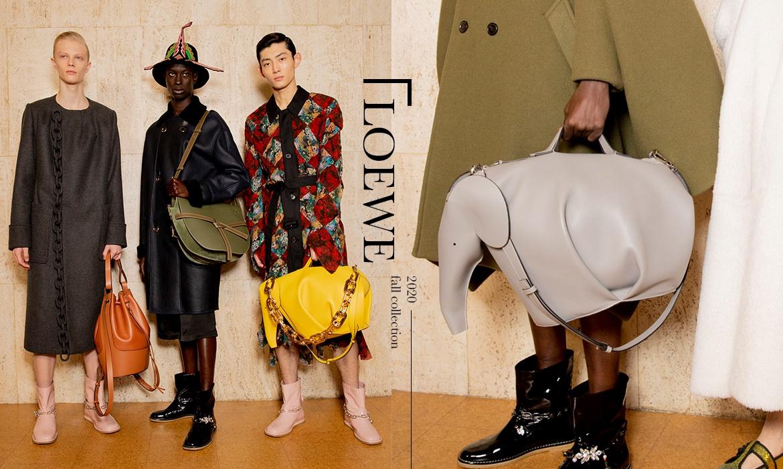 LOEWE 2020秋冬男装系列 带来男孩们的梦幻衣橱