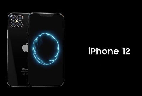iPhone12概念图:屏下指纹解锁+3D人脸识别来了 丑刘海保留