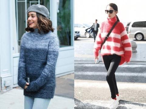"""身宽体胖的女人,这3种""""毛衣""""基本与你无缘,显肥又难看!"""
