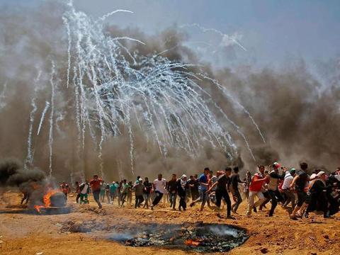 """以色列版""""水淹七军""""?水坝突然开闸泄水淹农田,巴勒斯坦强烈谴责"""