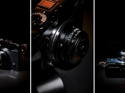 老蛙更新4mm F2.8圆周鱼眼镜头 支持E、X、M三个卡口