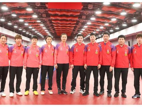 国乒釜山世乒赛10人名单解读,老中青相结合,预告奥运名单