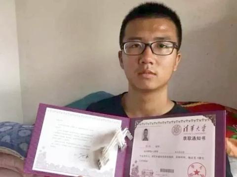 """宁夏""""寒门学霸"""":曾高考676分进清华,开学前在工地打工赚学费"""