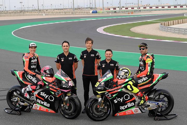 MotoGP阿普利亚计划在2022年组建自己的MotoGP厂队
