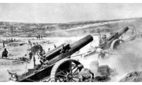 惨!一发炮弹让德军弹药库化为灰烬,准备投降的法军趁机反败为胜
