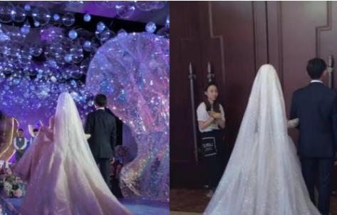 新娘新郎大婚,却被身边丈母娘抢镜,网友:一瞧新娘就是亲生的