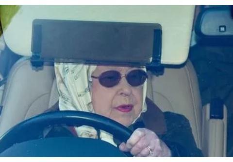 英女王被发现未系安全带驾车,督促助理:赶紧让哈里梅根离开