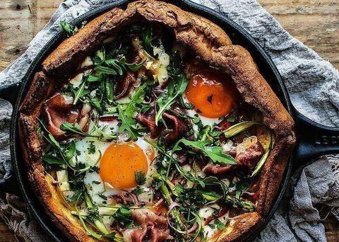 那些用太阳蛋代替芝士做披萨的人后来怎样了?健康又苗条!