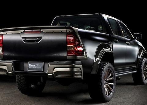 """丰田""""海拉克斯""""Black Bison特别版亮相,V6引擎加持!"""