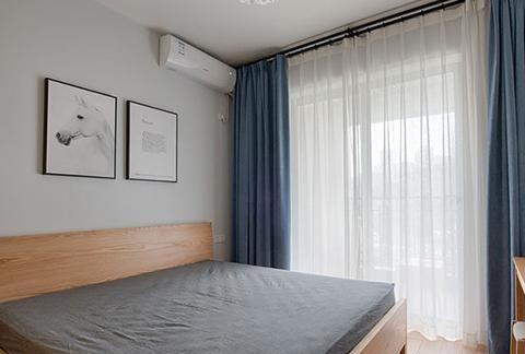105㎡三室两厅,清新带绿,颜值超高