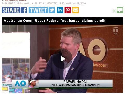 英媒称费德勒警告纳达尔德约科维奇 他将在澳网之后的比赛中占优