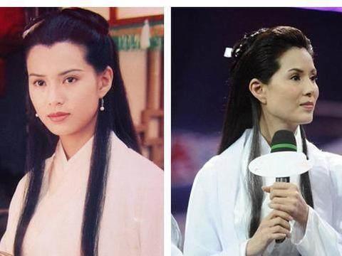 52岁李若彤现身机场,美貌宛如20岁少女,笑容超甜