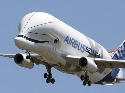 「白鲸」空中巴士可载51吨货物在9日正式服役