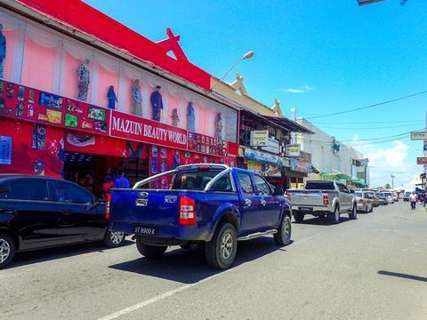 上海美女游客去马来西亚旅游,被当地人围着要钱,导游说:活该