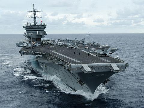 第三艘福特级航母开工,3艘航母总价曝光,一般小国家根本玩不起