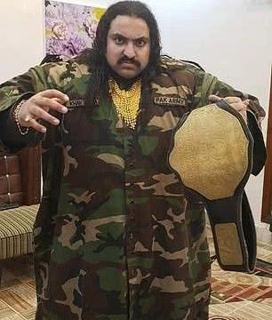 巴基斯坦880斤男子魅力十足,拒绝300名追求者,放话只爱胖女人