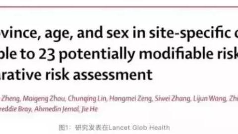 柳叶刀最新发布:中国最常见的23个致癌因素!