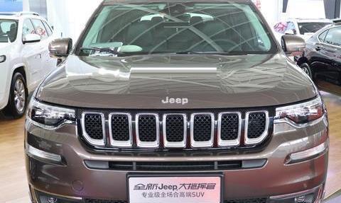 试驾次顶配Jeep大指挥官,这才是一步到位的四驱家用SUV