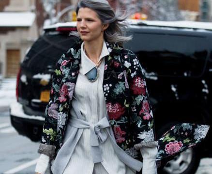 有型不只皮衣,夹克衫外套穿出酷感女孩,职场女孩永远年轻