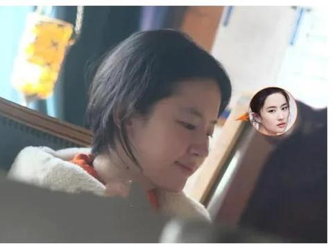 我喜欢素颜的刘亦菲,邻家女孩的感觉