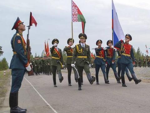 俄罗斯与乌克兰交恶,与白俄军事合作密切,大型军演铸就联盟盾牌