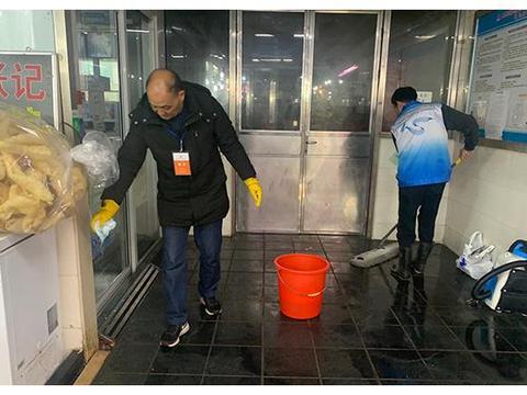 网络述年|上海730家农贸市场开展大扫除,改善卫生状况