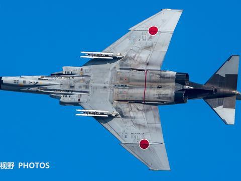 老兵F-4鬼怪II战斗机,航空自卫队终于放弃,今年淘汰二代机
