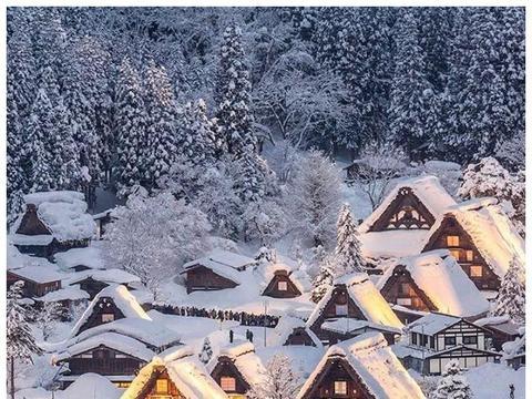 走进日本雪乡,看世界文化遗产,关键是不宰客!