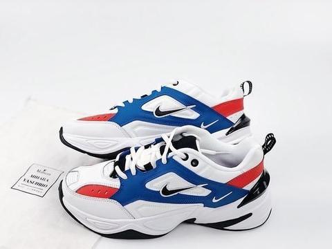 风靡一时的m2k如今大家都不喜欢了?Nike M2k 白蓝红 老爹鞋!