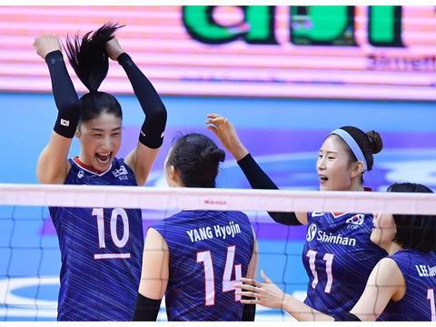 韩国女排击败泰国入围东京奥运会,日本女排成最大受害者,真倒霉