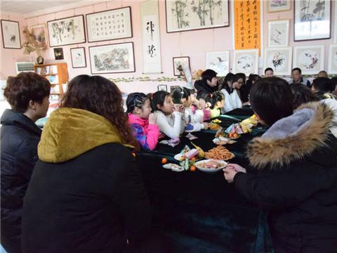 天德书画院雄县分院举办迎新春书画联欢活动
