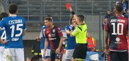 世界足坛的瑰宝:巴洛特利!出场7分钟染红,这次判罚严重了
