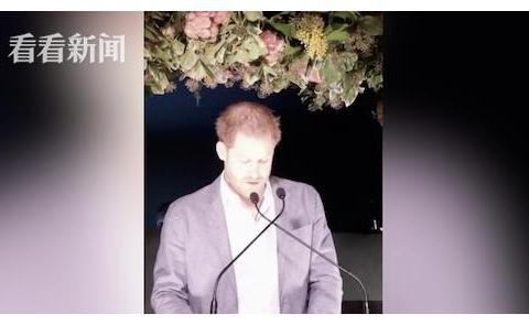 """哈里""""退出王室""""后首度发声:对此""""极度难过"""""""